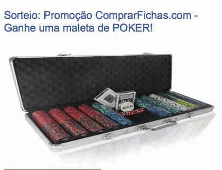 Promoção Ganhe Uma Maleta De Poker