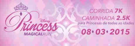 Promoção Princess Magical Run