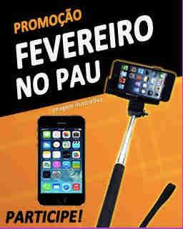 Promoção Fevereiro No Pau