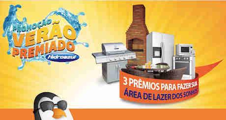 Promoção Verão Premiado Hidroazul