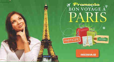 Promoção Bon Voyage À Paris