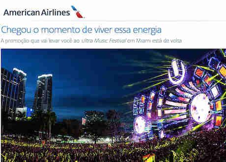 Promoção Ultra Music Festival Miami