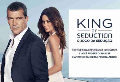 Promoção Antonio Banderas King Of Seduction