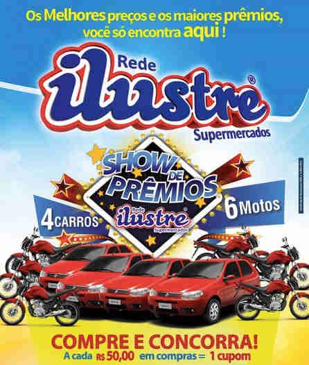 Promoção Show De Prêmios Ilustre