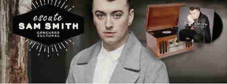 Concurso Cultural Escute Sam Smith