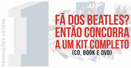 Promoção Antena 1 E Billbox Kit The Beatles