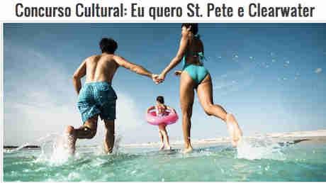Concurso Cultural Eu Quero St. Petersburg E Clearwater