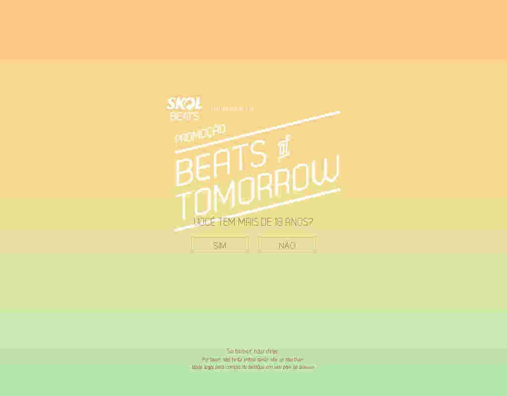 Promoção Skol Beats Of Tomorrow