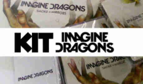 Promoção Kit Do Imagine Dragons