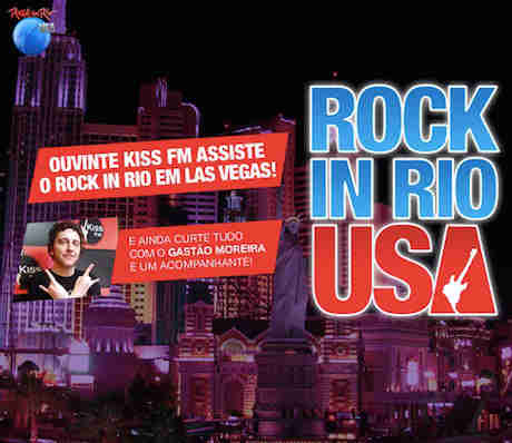 Concurso Cultural Rock In Rio Em Las Vegas Na Kiss Fm