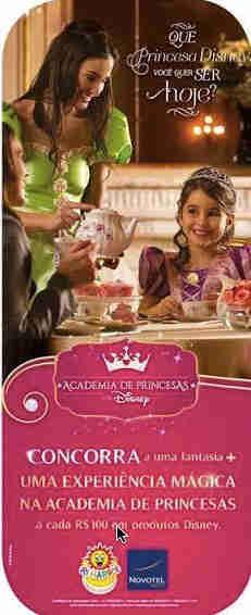 Promoção Academia De Princesas Da Disney