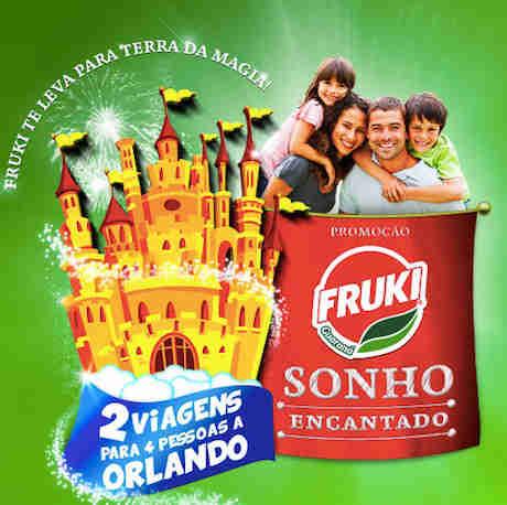 Promoção Fruki Sonho Encantado