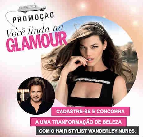 Promoção Você Linda Na Glamour