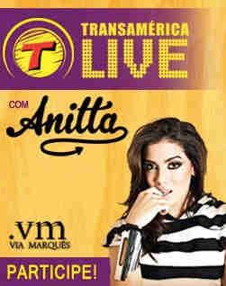 Promoção Transamérica Live Com Anitta