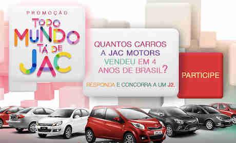 Promoção Tá Todo Mundo De Jac