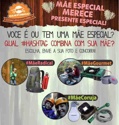 Concurso Cultural Dia Das Mães Guepardo