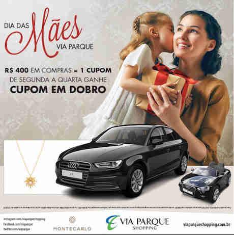 Promoção Dia Das Mães Via Parque