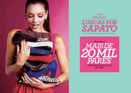 Promoção Marisa Loucas Por Sapato