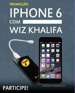 Promoção Iphone Com Wiz Khalifa