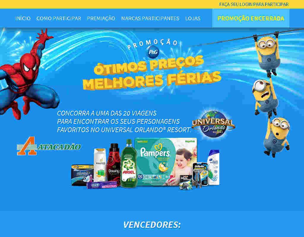 Promoção P&g Ótimos Preços Melhores Ferias