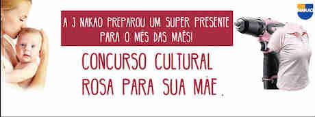 Concurso Cultural Rosa Para Sua Mãe