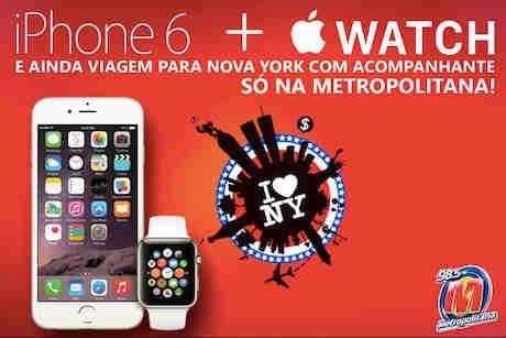 Promoção Iphone 6 +apple Watch + Viagem Para Ny