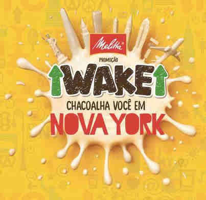 Promoção Wake Chacoalha Você Em Nova York