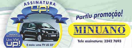 Promoção Assinatura Up Minuano