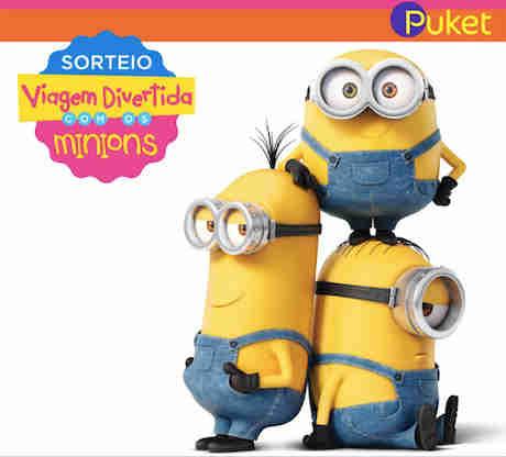 Promoção Puket Viagem Divertida Com O Minions