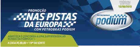 Promoção Nas Pistas Da Europa Com Petrobras Podium
