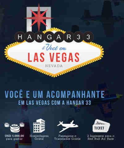 Promoção Hangar 33 E Você Em Las Vegas