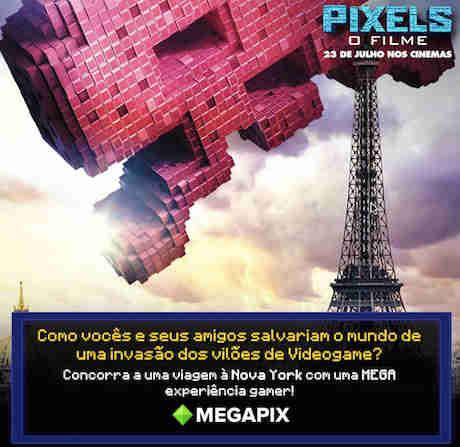 Promoção Invasão Pixels