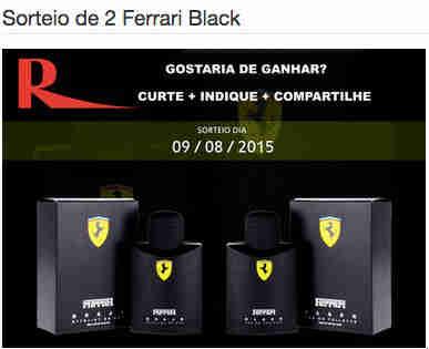 Promoção Atacado Rodrigues Sorteio De 2 Ferrari Black