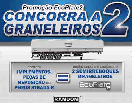 Promoção Randon Ecoplate 2