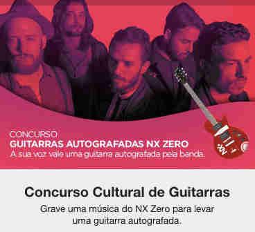 Concurso Cultural Guitarras Autografadas Nx Zero