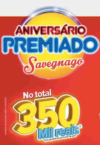 Promoção Aniversário Premiado Savegnago