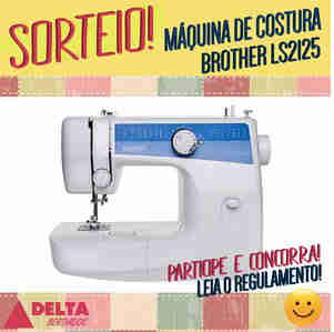 Promoção Concorra A Uma Máquina De Costura Brother