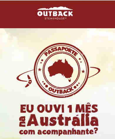 Promoção Passaporte Outback
