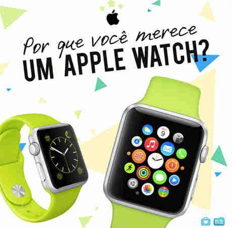 Concurso Cultural Por Que Você Merece Um Apple Watch?