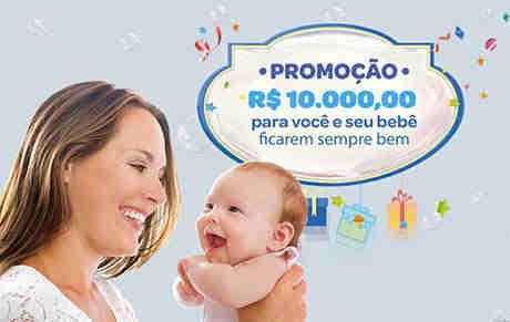 Promoção R$ 10.000,00 Para Você E Seu Bebê Ficarem Sempre Bem