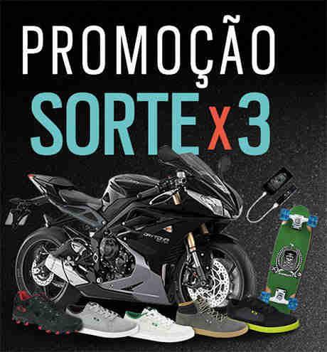 Promoção Oakley Sorte X3