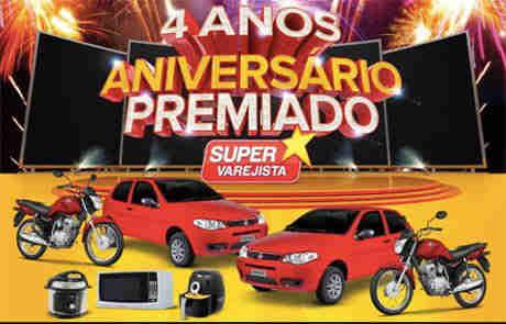 Promoção Aniversário Premiado Supervajerista