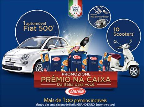 Promoção Barilla Prêmio Na Caixa