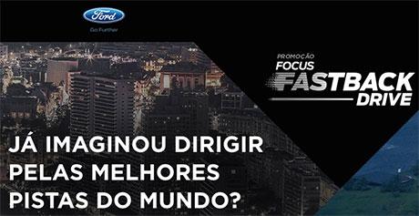 Promoção Ford Focus Fastback Drive