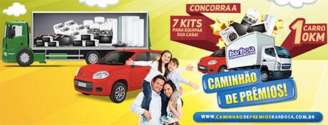 Promoção Caminhão De Prêmios Barbosa