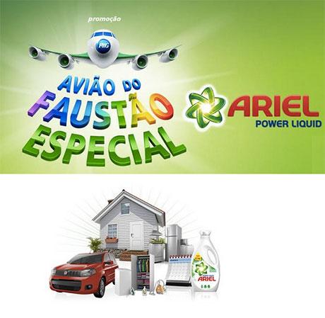 Promoção Avião Do Faustão Especial Ariel Power Liquid