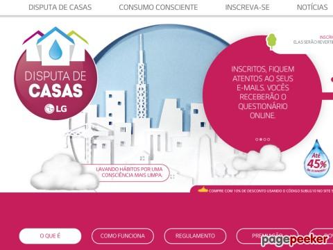 Promoção Lg Disputa De Casas 2015