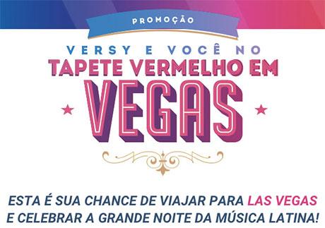 Promoção Versy E Você No Tapete Vermelho Em Vegas