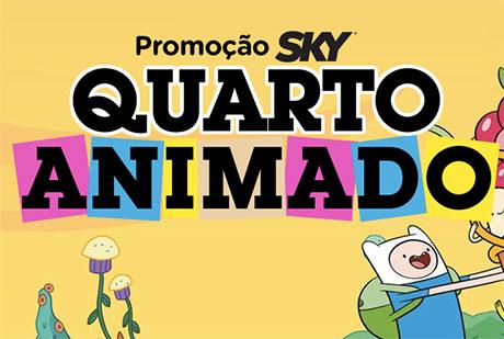 Promoção Sky Quarto Animado