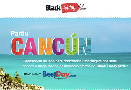 Promoção Busca Descontos Black Friday Partiu Cancún